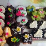 Cukroví s podkovami a motlýlky